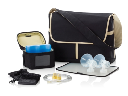 Breastpump Messenger Bag Set – no pump