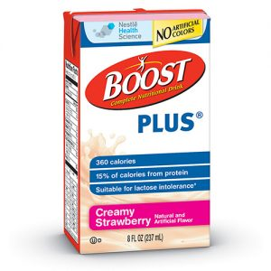 BOOST PLUS - Creamy Strawberry